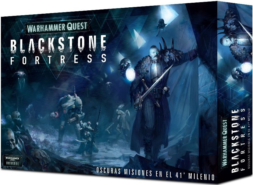 Warhammer Quest   Blackstone Fortress   01