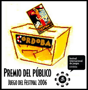 Juego del Festival Córdoba 2006 - Premio del Público