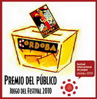 Premio del Público al Juego del Festival 2010