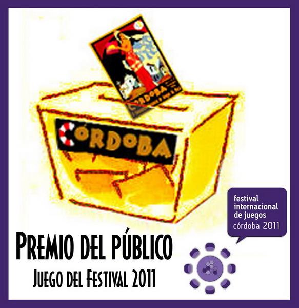 Premio del Público al Juego del Festival 2011