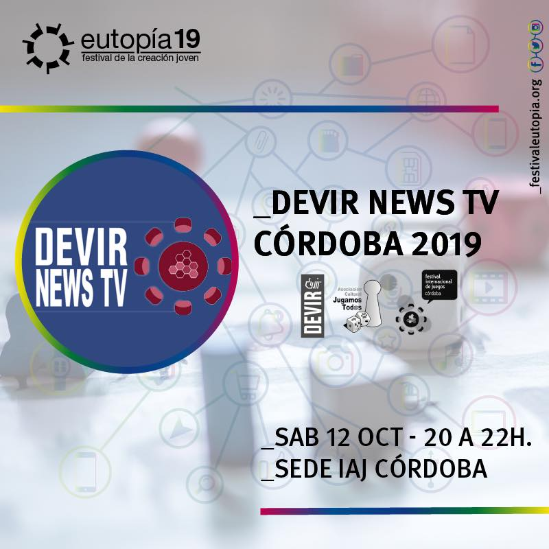 Eutopía 19: Devir News TV